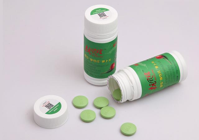 抗風竤瑢石雌性紅蘿卜復合咀嚼片