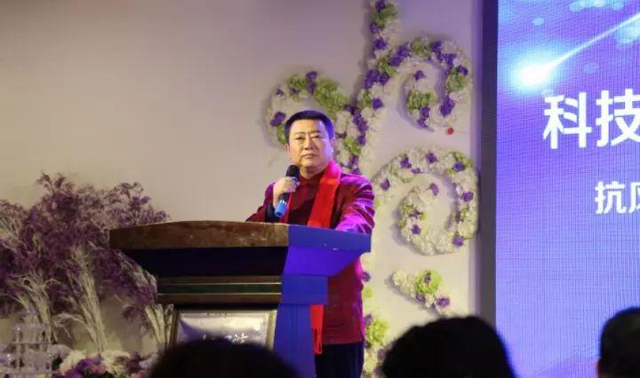 抗風竤集團董事長張芮袀先生致詞